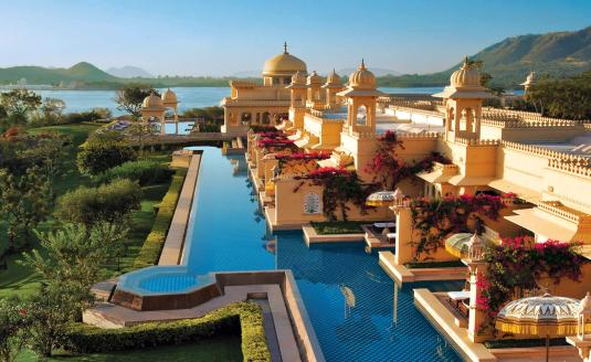 The Oberoi Udaivilas, Udaipur.