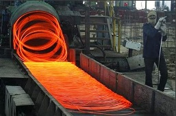Steel factory