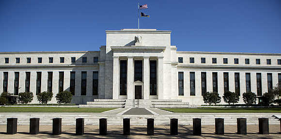 Federal Reserve Building in Washington, DC.