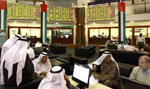 BSE launches futures trading on Dubai bourse. Photograph: Mosab Omar/Reuters