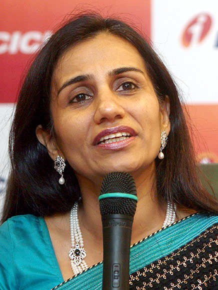 ICICI Bank MD & CEO, Chanda Kochhar.