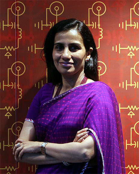 ICICI Bank's Chief Executive Officer Chanda Kochhar.