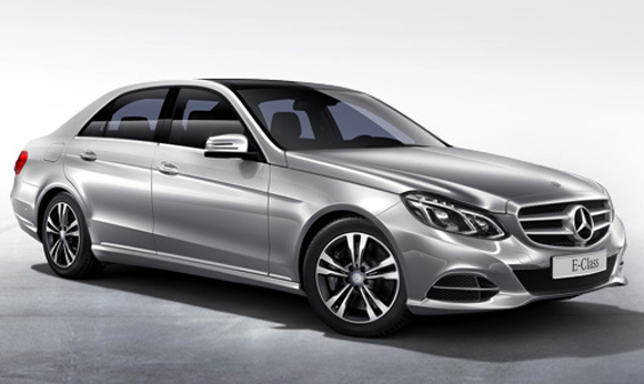 The new E-class is 11 mm longer and features a new sporty exterior body styling.