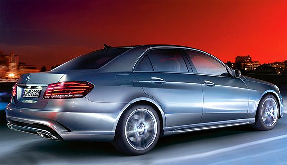 The new E-Class 200 CGI petrol model offers 8 per cent more mileage at 13.8 kmpl, as the engine weight has been reduced to some extent.