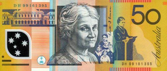 50 Australian dollars Edith Cowan.