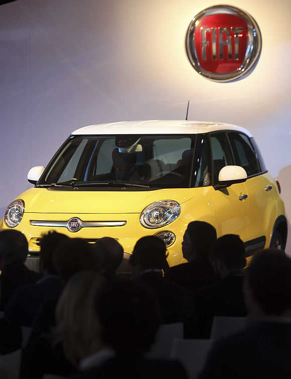 Fiat aims to make between 110,000 and 150,000 500L cars at its plant in Serbia this year.