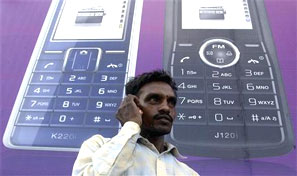 Telcos sit on Rs 38k-cr liability bomb. Photograph: Ajay Verma/Reuters