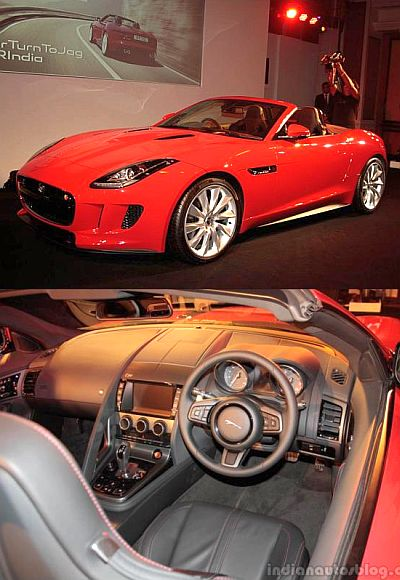 JLR launches Jaguar F TYPE priced up to Rs 1.61 crore