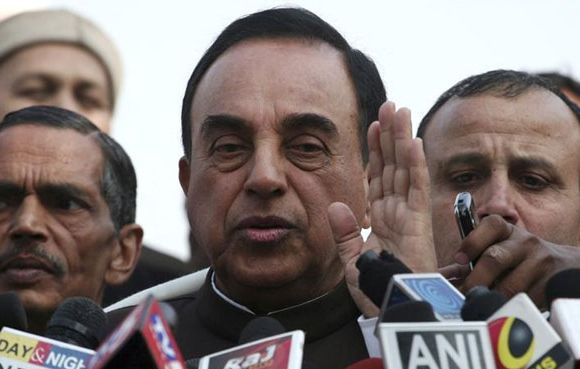 Subramanian Swamy, an opposition politician, wrote to the PM opposing Jet-Etihad deal.