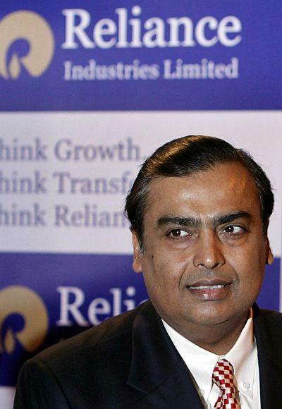 Mukesh Ambani, chairman of Indian energy major Reliance Industries.