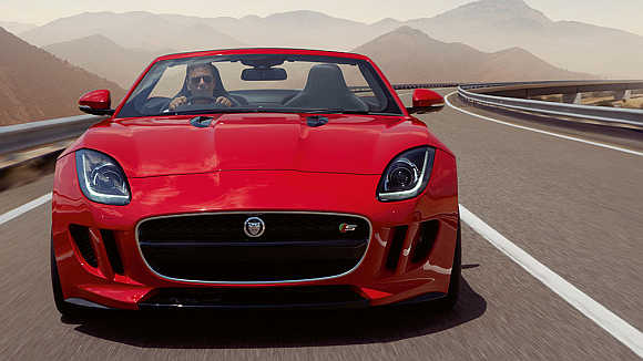 Jaguar F-Type has hit the Indian roads.