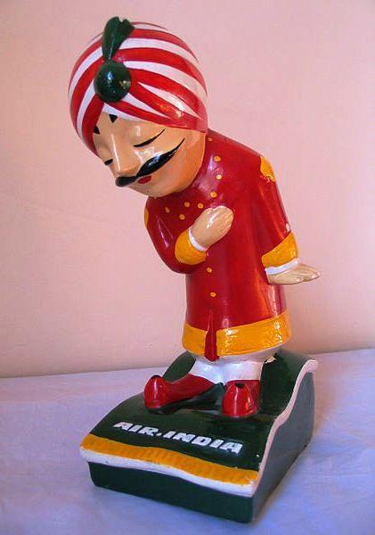 Air India mascot.