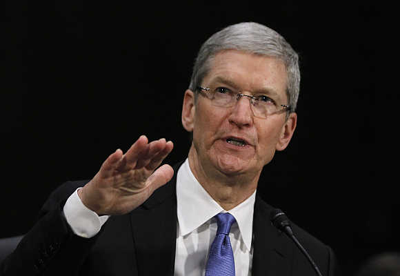 Apple CEO Tim Cook in Washington, DC.