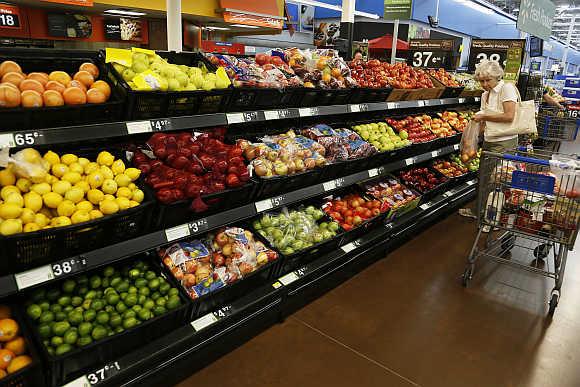 A Walmart Supercenter in Rogers, Arkansas.