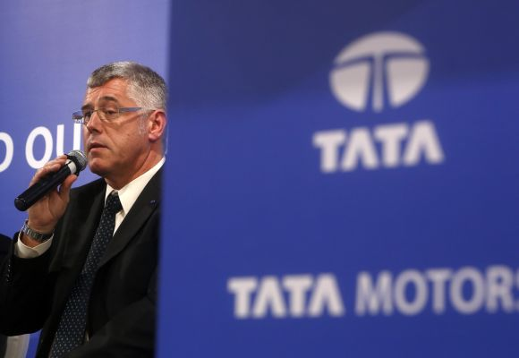 Karl Slym, managing director of Tata Motors.