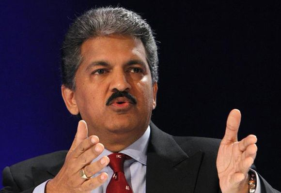 Anand Mahindra, Chairman and Managing Director of Mahindra & Mahindra.