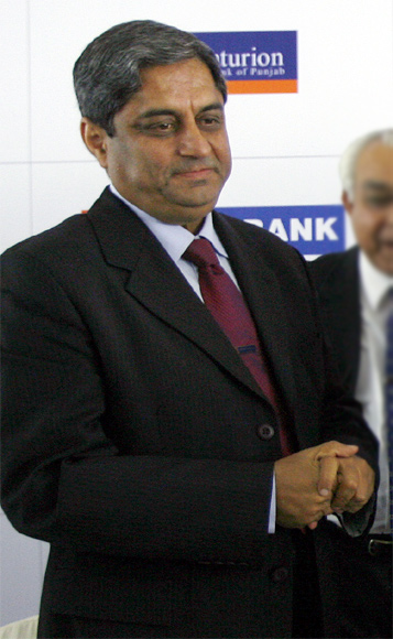 Aditya Puri, managing director of HDFC Bank.