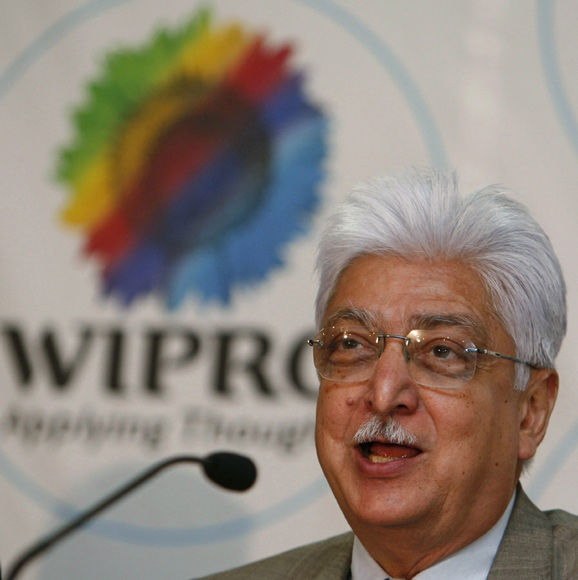 Azim Premji, chairman of Wipro.