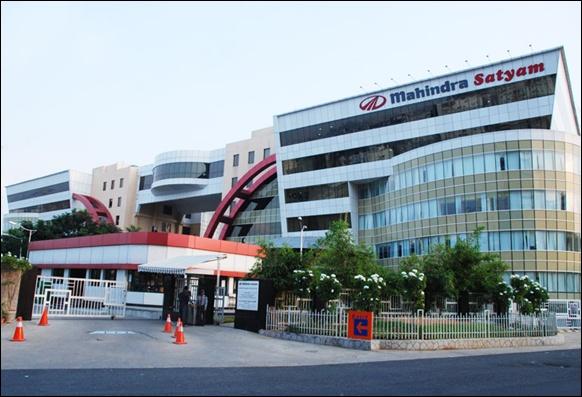 Mahindra Satyam headquarters.
