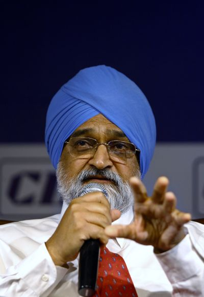 India's Planning Commission Deputy Chairman Montek Singh Ahluwalia.