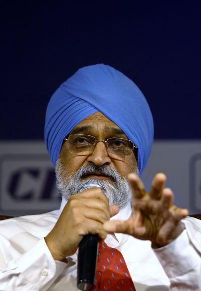 Planning Commission Deputy Chairman Montek Singh Ahluwalia