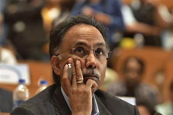 Infosys' outgoing CEO & MD Shibulal.