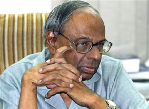 C Rangarajan. Photograph: B Mathur/Reuters