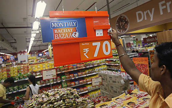 sales promotion at big bazaar Big bazaar bellevue  they advertise that the promotion is so good as if getting another 20%  i was crying at the end of my shopping due to the sales.
