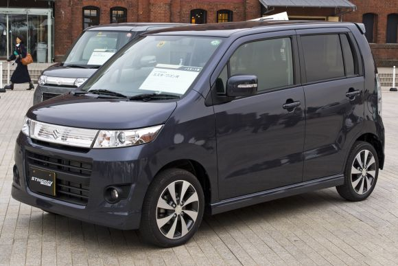 Fourth generation Suzuki Wagon R Stingray.