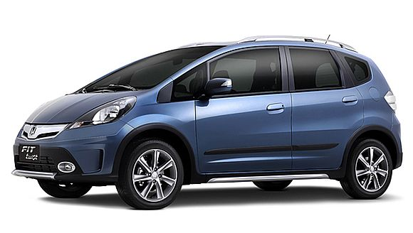 Honda Fit also marketed as Honda Jazz.