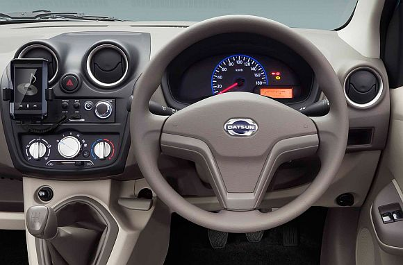 Nissan unveils Datsun 'Go', to be priced below Rs 4 lakh