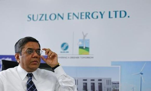 Tulsi Tanti, chairman and managing director of Suzlon Energy Ltd.