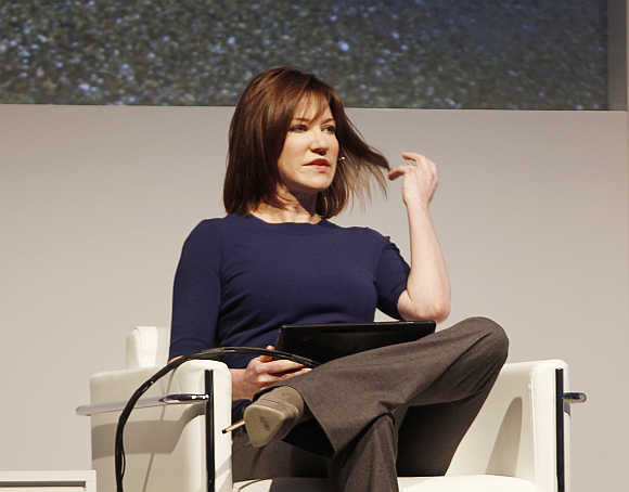 Julie Larson-Green in Barcelona, Spain.