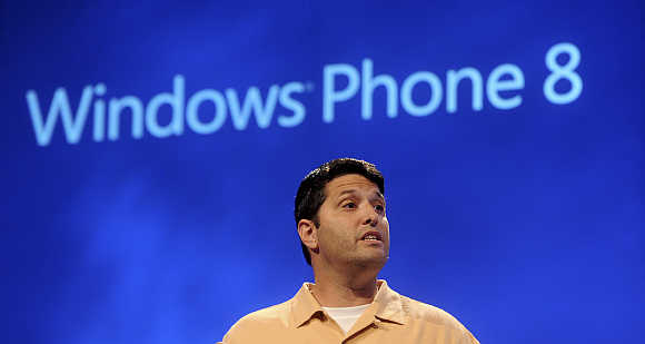 Terry Myerson in San Francisco, California.