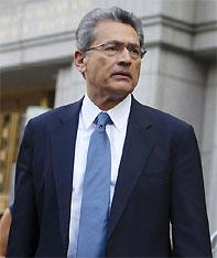Former Goldman Sachs Group Inc board member Rajat Gupta. Photograph: Andrew Kelly/Reuters