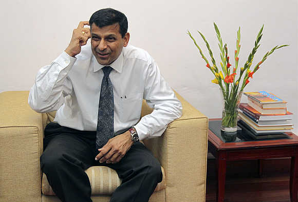 Raghuram Rajan in New Delhi.
