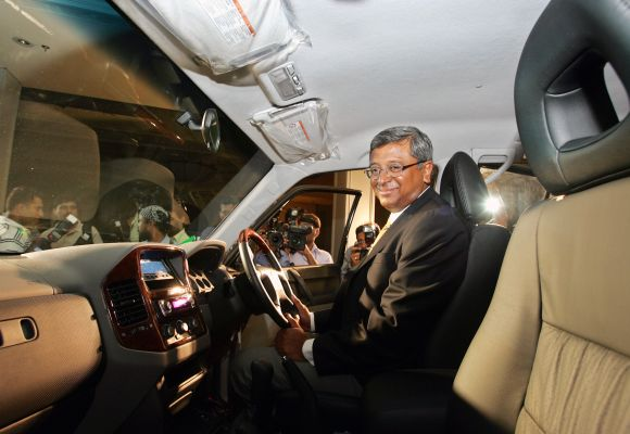 Former managing director of Hindustan Motors Ravi Santhanam.