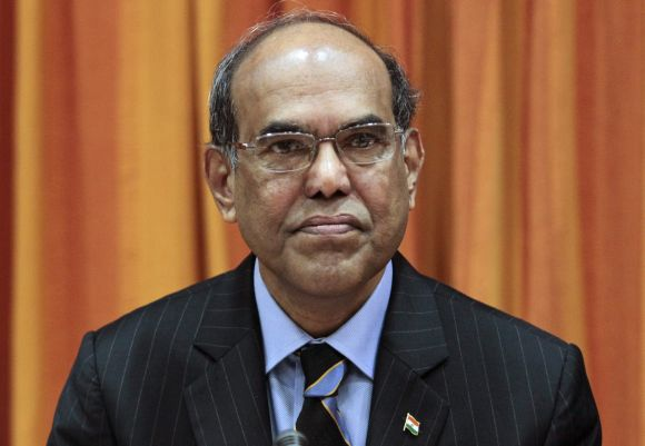 Reserve Bank of India Governor Duvvuri Subbarao.