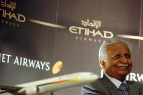 Jet Airways chief Naresh Goyal