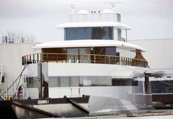 Images: The super yacht that Steve Jobs designed