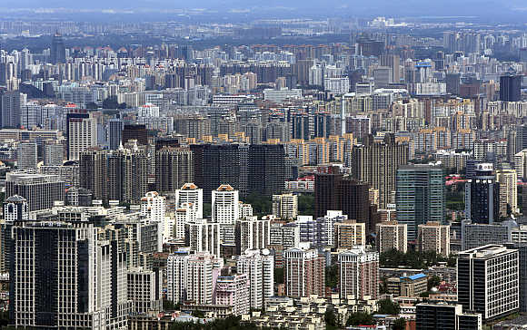 A view of Beijing.