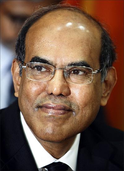 RBI Governor Subbarao.