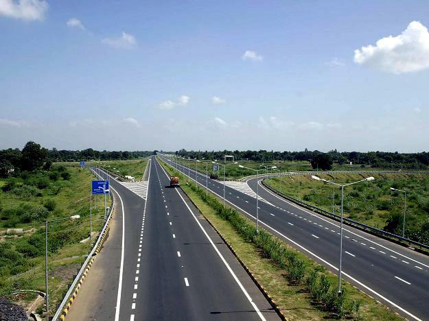 Ahmedabad-Vadodara Expressway.