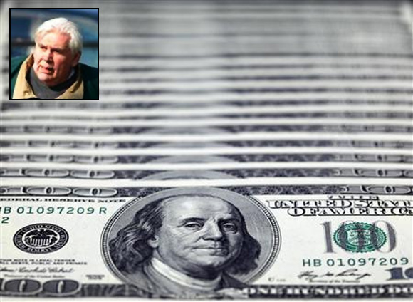 US dollar notes. Paul Devine (inset)