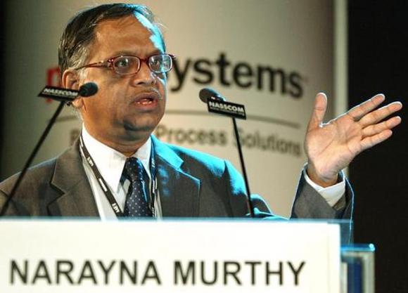 nfosys Technologies Chairman Narayana Murthy.
