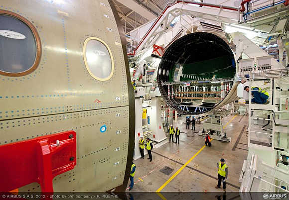 Airbus launches maiden flight of A350