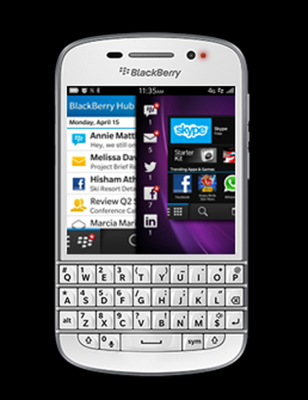 BlackBerry Q5.