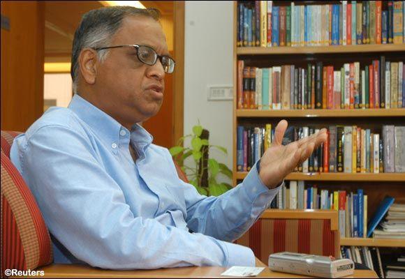 N.R. Narayana Murthy.