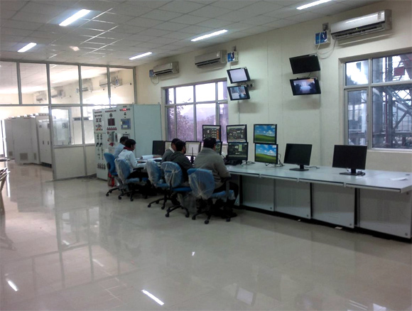 Online montiroing being done at the facility.
