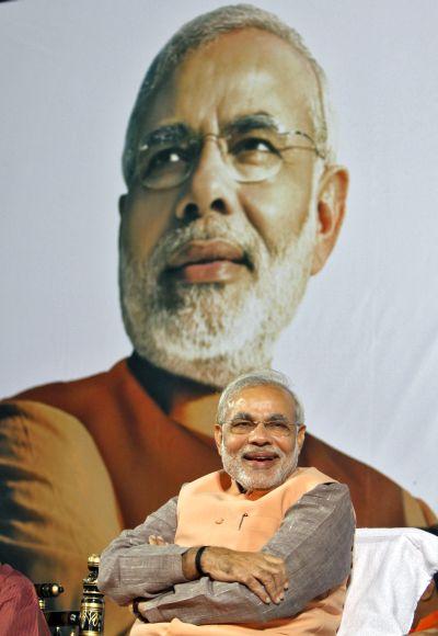 Gujarat's Chief Minister Narendra Modi.